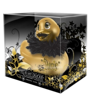Big Teaze Toys Vibrierende kleine Bade-Ente in Paris strahlendem gold -
