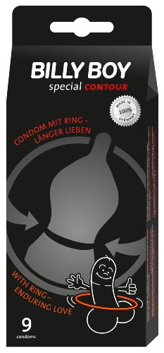 Billy Boy special CONTOUR Kondome 9er Packung - Mit Ring -