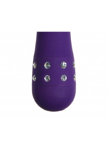 Evolved Diamond Vibrator Princess, violett, 1 Stück -