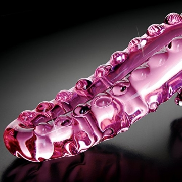 Icicles No 24 Hand Blown Glass Massager -