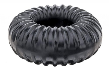 Perfect Fit Ribbed Ring Erection Ring Black -