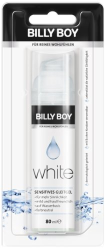 Billy Boy White sensitives Gleitgel im Spender (1 x 80 ml) -