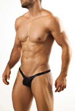 Joe Snyder Bulge Tanga-Metal Black-M -
